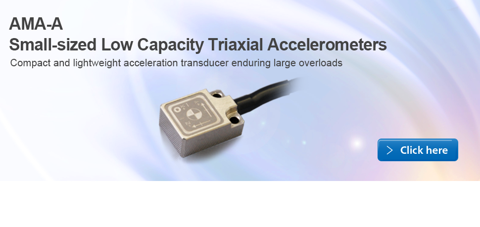Small-sized Low Capacity Triaxial Accelerometers