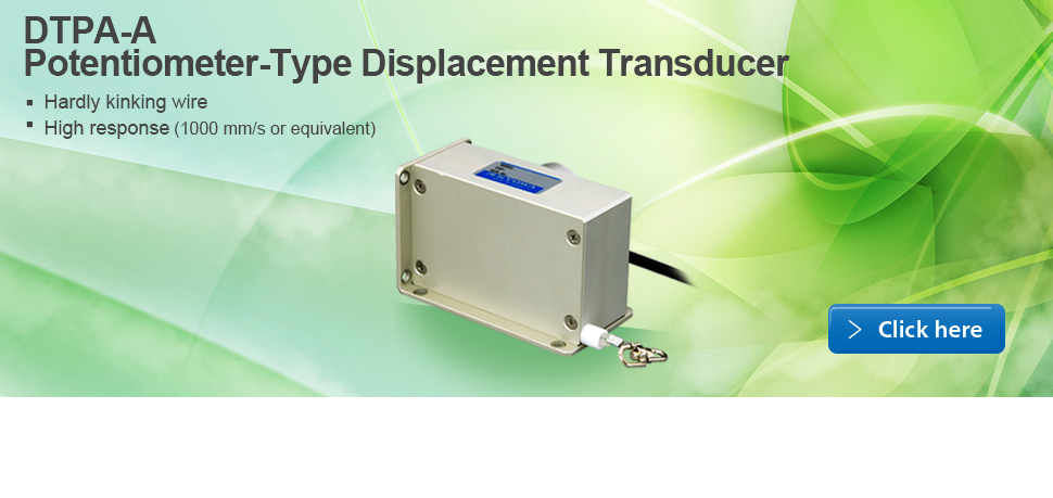 Potentiometer-Type Displacement Transducer DTPA-A