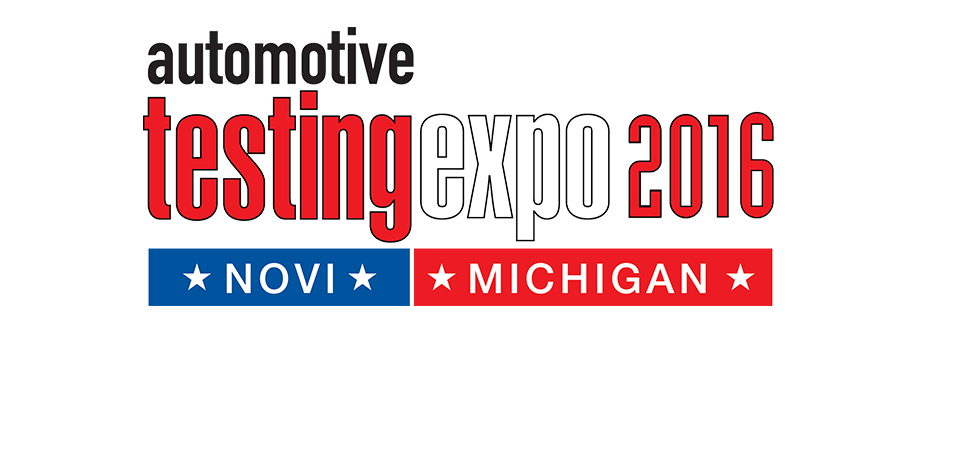 Automotive Testing Expo 2016 North America